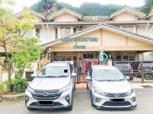 Terrace For Sale in Taman Gombak Permai, Batu Caves Freehold Unfurnished 4R/3B 760k