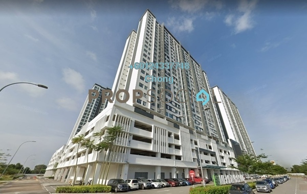 Condominium For Sale in Meridin Bayvue , Masai Freehold Unfurnished 3R/2B 284k