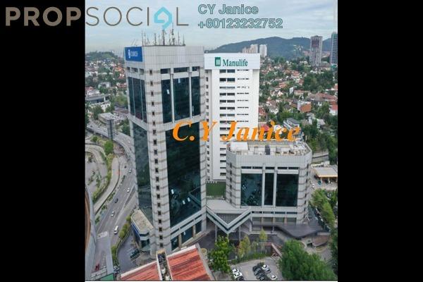 Office For Rent in Plaza Zurich (former Menara HP), Damansara Heights Freehold Semi Furnished 0R/0B 54.5k