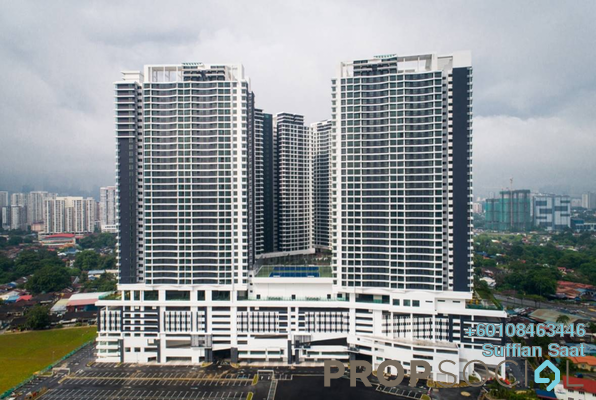 Condominium For Sale in KL Traders Square, Kuala Lumpur Freehold Fully Furnished 3R/2B 480k