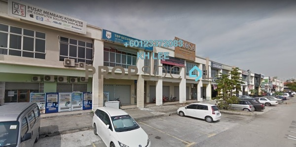 Shop For Sale in Section 7, Shah Alam Freehold Semi Furnished 0R/0B 1.12m