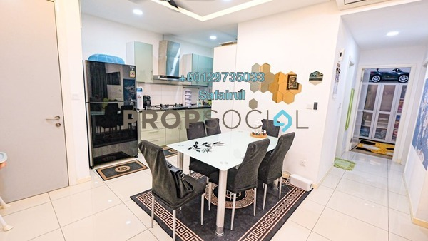 Condominium For Sale in Casa Green, Bukit Jalil Freehold Semi Furnished 3R/3B 470k