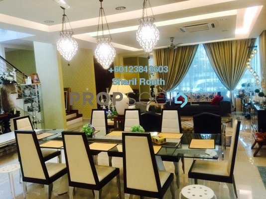 Semi-Detached For Sale in Garden Residence, Cyberjaya Freehold Fully Furnished 4R/4B 2.1m