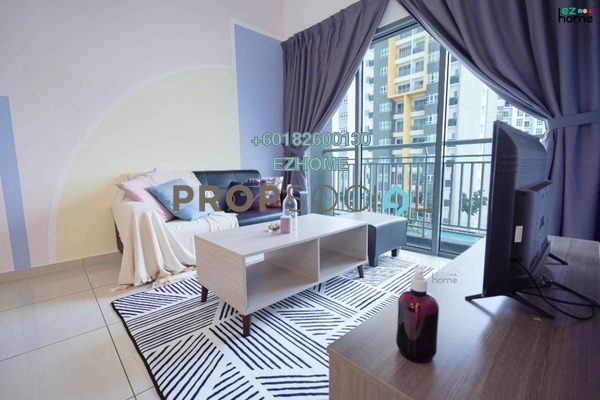 Serviced Residence For Rent in MesaHill, Putra Nilai Freehold Fully Furnished 2R/2B 1.5k