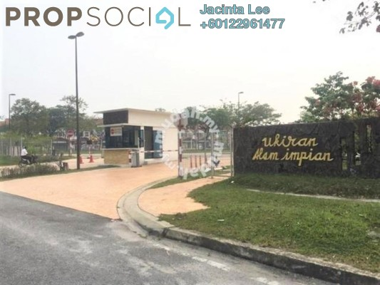 Superlink For Sale in Ukiran, Alam Impian Freehold Semi Furnished 5R/6B 838k