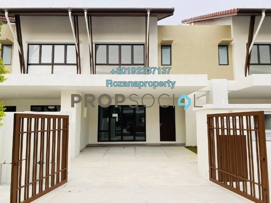 Terrace For Sale in Serene Heights, Bangi Freehold Unfurnished 4R/3B 600k