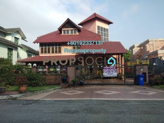 Bungalow For Sale in Section 8, Shah Alam Freehold Semi Furnished 6R/6B 2.2m