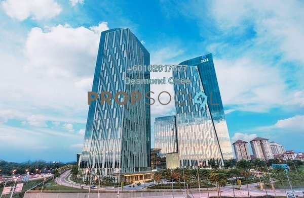 Office For Rent in IOI City Tower, IOI Resort City Freehold Semi Furnished 0R/0B 89.9k