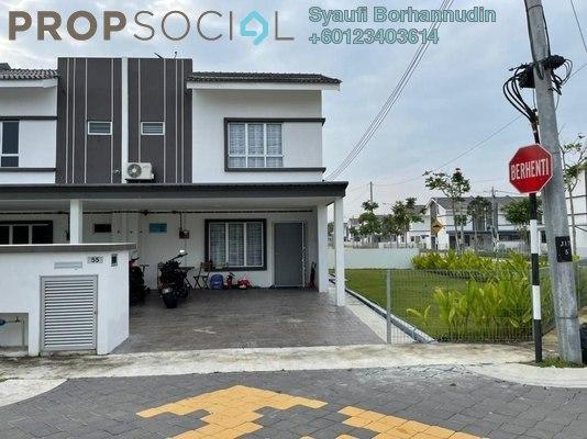 Terrace For Sale in Irama Perdana, Alam Perdana Leasehold Semi Furnished 4R/3B 750k