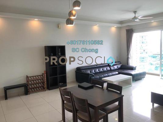 Condominium For Sale in Glomac Damansara Residences, TTDI Freehold Fully Furnished 3R/2B 895k
