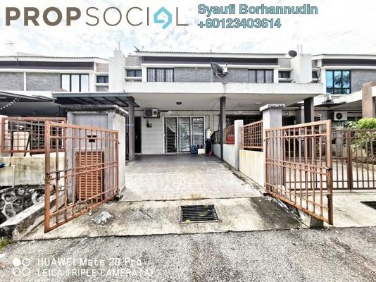 Terrace For Sale in Bandar Saujana Utama, Sungai Buloh Freehold Unfurnished 4R/3B 490k