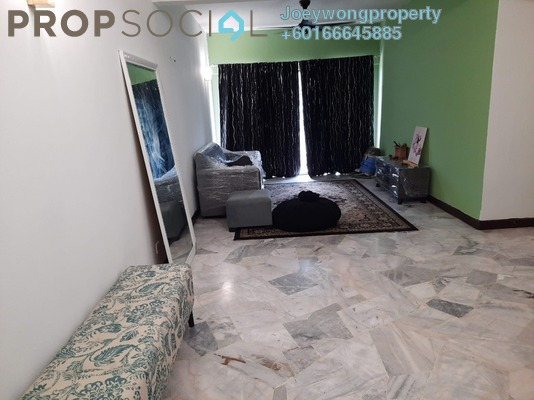 Apartment For Rent in Abadi Indah Apartment, Taman Desa Freehold Fully Furnished 3R/2B 1.2k