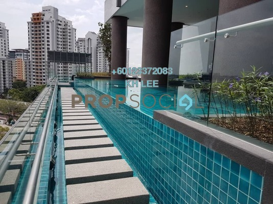 Serviced Residence For Rent in Sunway GeoSense, Bandar Sunway Freehold Fully Furnished 2R/2B 2.6k