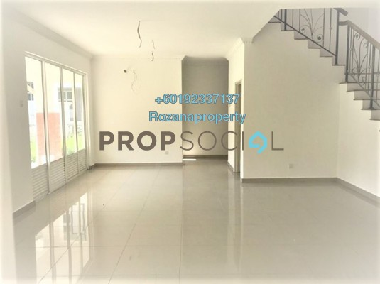 Terrace For Sale in Anjung Sari, Setia Alam Freehold Unfurnished 6R/5B 1.35m