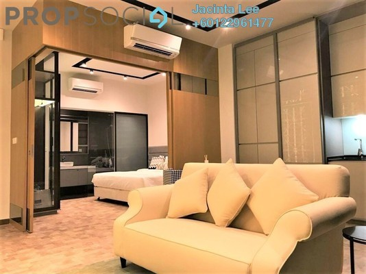 Serviced Residence For Sale in Expressionz Professional Suites, Titiwangsa Freehold Fully Furnished 2R/2B 729k