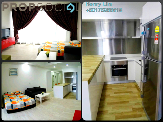 SoHo/Studio For Rent in M City, Ampang Hilir Freehold Fully Furnished 0R/1B 1.6k