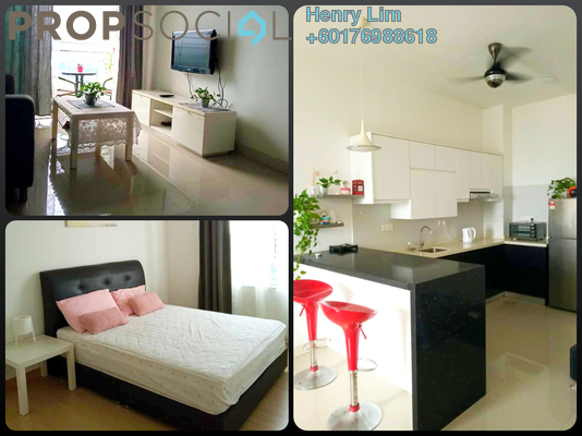 Serviced Residence For Rent in Desa Green Serviced Apartment, Taman Desa Freehold Fully Furnished 2R/2B 1.6k