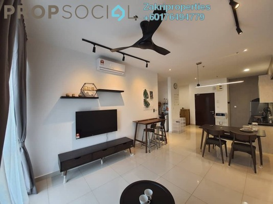 Condominium For Rent in Rica Residence, Sentul Freehold Fully Furnished 2R/1B 2.3k