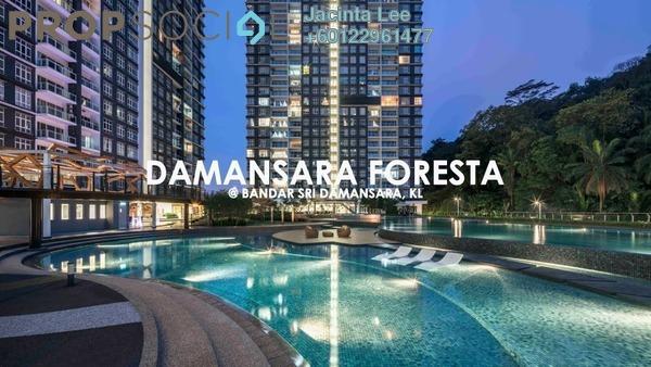 Condominium For Sale in Damansara Foresta, Bandar Sri Damansara Freehold Semi Furnished 3R/2B 558k