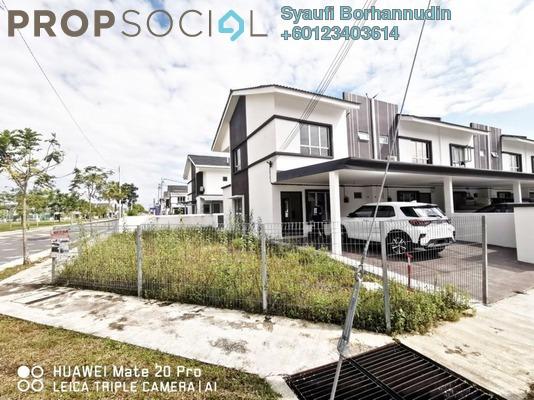 Terrace For Sale in Irama Perdana, Alam Perdana Leasehold Unfurnished 4R/3B 660k