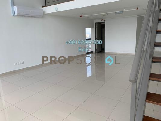 Duplex For Rent in Pinnacle, Petaling Jaya Freehold Unfurnished 1R/2B 2.1k