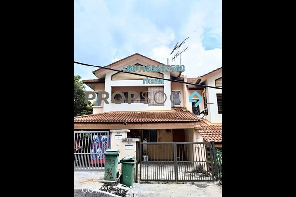 Townhouse For Rent in Amansiara, Selayang Freehold Fully Furnished 3R/2B 1.3k