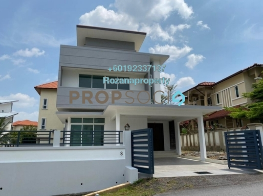 Bungalow For Sale in Section 6, Bandar Mahkota Cheras Freehold Unfurnished 7R/7B 2.5m