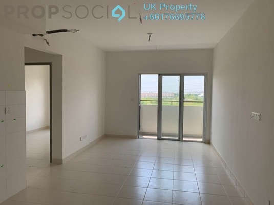 Apartment For Rent in Aman 1, Tropicana Aman Freehold Semi Furnished 2R/2B 1.5k