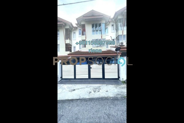 Townhouse For Sale in Amansiara, Selayang Freehold Semi Furnished 3R/2B 450k