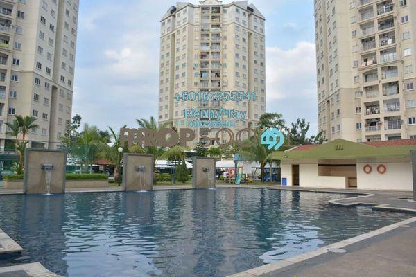 Condominium For Sale in Menara Menjalara, Bandar Menjalara Freehold Semi Furnished 3R/2B 380k