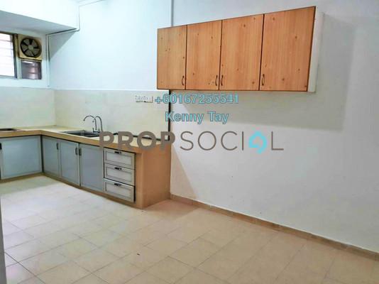 Terrace For Sale in Taman Bukit Desa, Kepong Freehold Semi Furnished 3R/2B 430k
