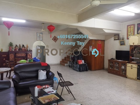 Terrace For Sale in Taman Wahyu, Jalan Ipoh Freehold Semi Furnished 4R/3B 778k