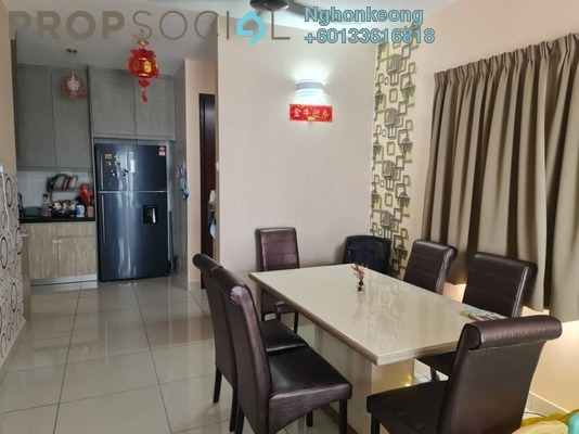 Condominium For Sale in Koi Suites, Puchong Freehold Semi Furnished 3R/2B 495k