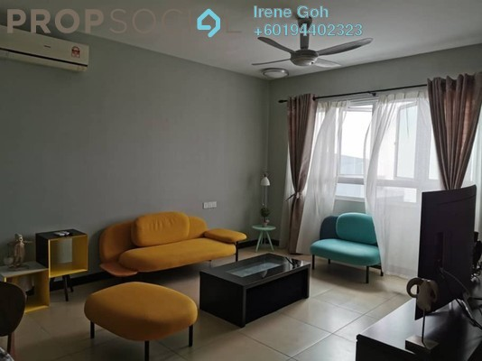 Condominium For Rent in Pearl Regency, Gelugor Freehold Fully Furnished 3R/2B 2.5k