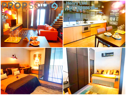 Duplex For Rent in TWY Mont Kiara, Mont Kiara Freehold Fully Furnished 1R/1B 3.8k
