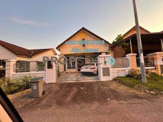 Terrace For Sale in Taman Uda Utama, Johor Bahru Freehold Semi Furnished 3R/2B 480k