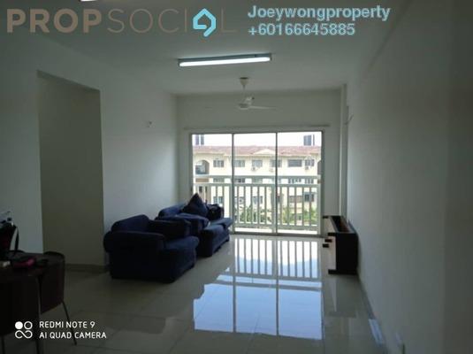 Condominium For Sale in Hijauan Puteri, Bandar Puteri Puchong Freehold Semi Furnished 3R/2B 450k
