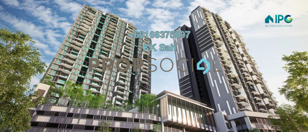 Condominium For Sale in UPM-MTDC Technology Centre, Serdang Freehold Unfurnished 2R/2B 287k