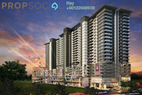 Serviced Residence For Rent in Senza Residence, Bandar Sunway Freehold Fully Furnished 3R/2B 1.8k