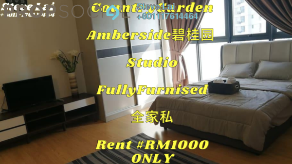 Condominium For Rent in Country Garden Danga Bay, Danga Bay Freehold Fully Furnished 1R/1B 1k