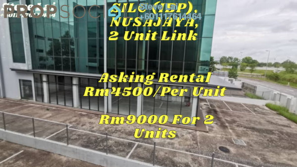 Factory For Rent in IBP @ SiLC Nusajaya, Iskandar Puteri (Nusajaya) Freehold Unfurnished 0R/0B 4.5k