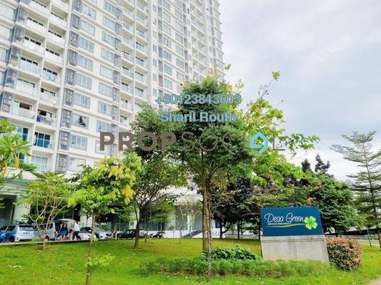 Condominium For Rent in Desa Green Serviced Apartment, Taman Desa Freehold Semi Furnished 2R/1B 1.3k