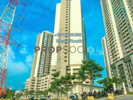 Condominium For Rent in Residensi Pandanmas, Pandan Indah Freehold Semi Furnished 3R/2B 1.5k