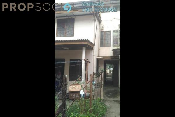 Terrace For Sale in Taman Setapak Jaya, Setapak Freehold Unfurnished 3R/2B 220k