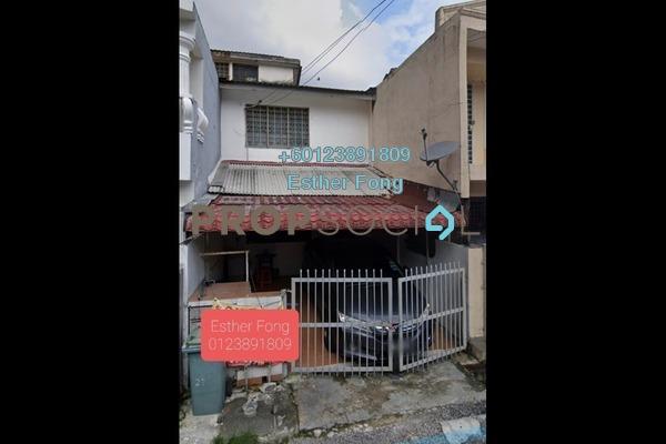 Terrace For Sale in Taman Sri Sinar, Segambut Freehold Unfurnished 2R/2B 340k