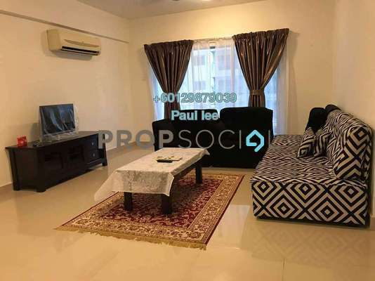 Condominium For Rent in Mas Kiara Residences, TTDI Freehold Fully Furnished 3R/2B 2.3k