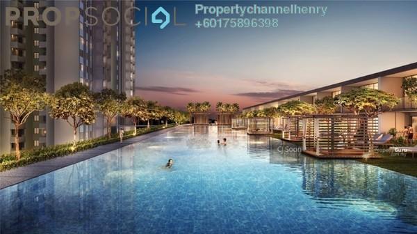 Condominium For Sale in Taman Desa Kemuning, Kota Kemuning Freehold Semi Furnished 3R/2B 450k