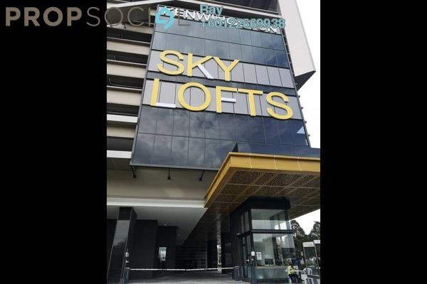 Serviced Residence For Sale in Kenwingston Sky Loft, UEP Subang Jaya Leasehold Unfurnished 3R/2B 640k