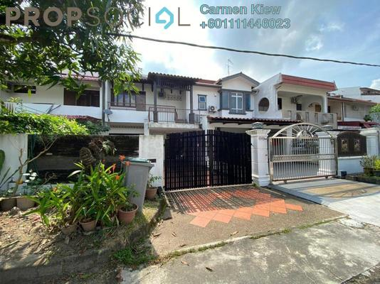 Terrace For Rent in Taman Tasek, Johor Bahru Freehold Semi Furnished 4R/3B 1.2k