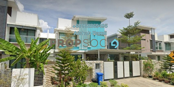 Semi-Detached For Sale in Viola, Alam Impian Freehold Semi Furnished 9R/6B 2.1m